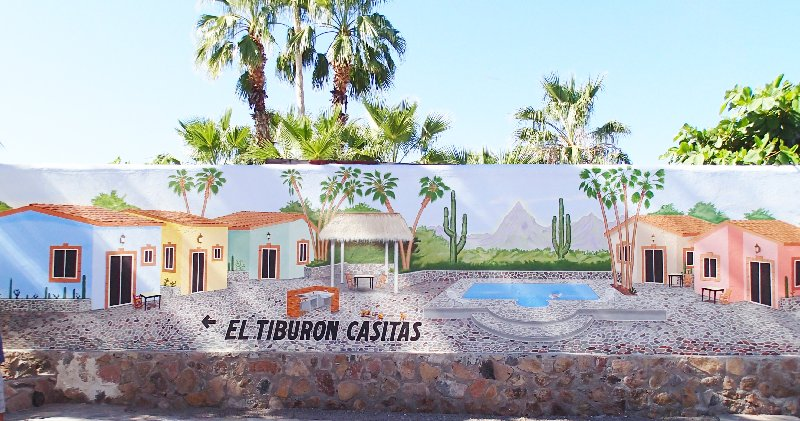 Casita wall paintings